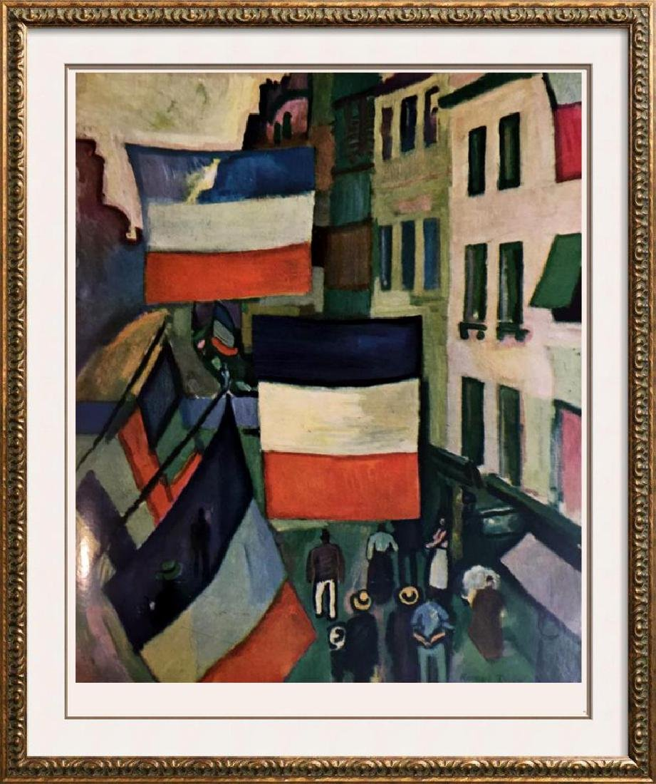 Raoul Dufy Street Decked with Flags c.1906 Fine Art