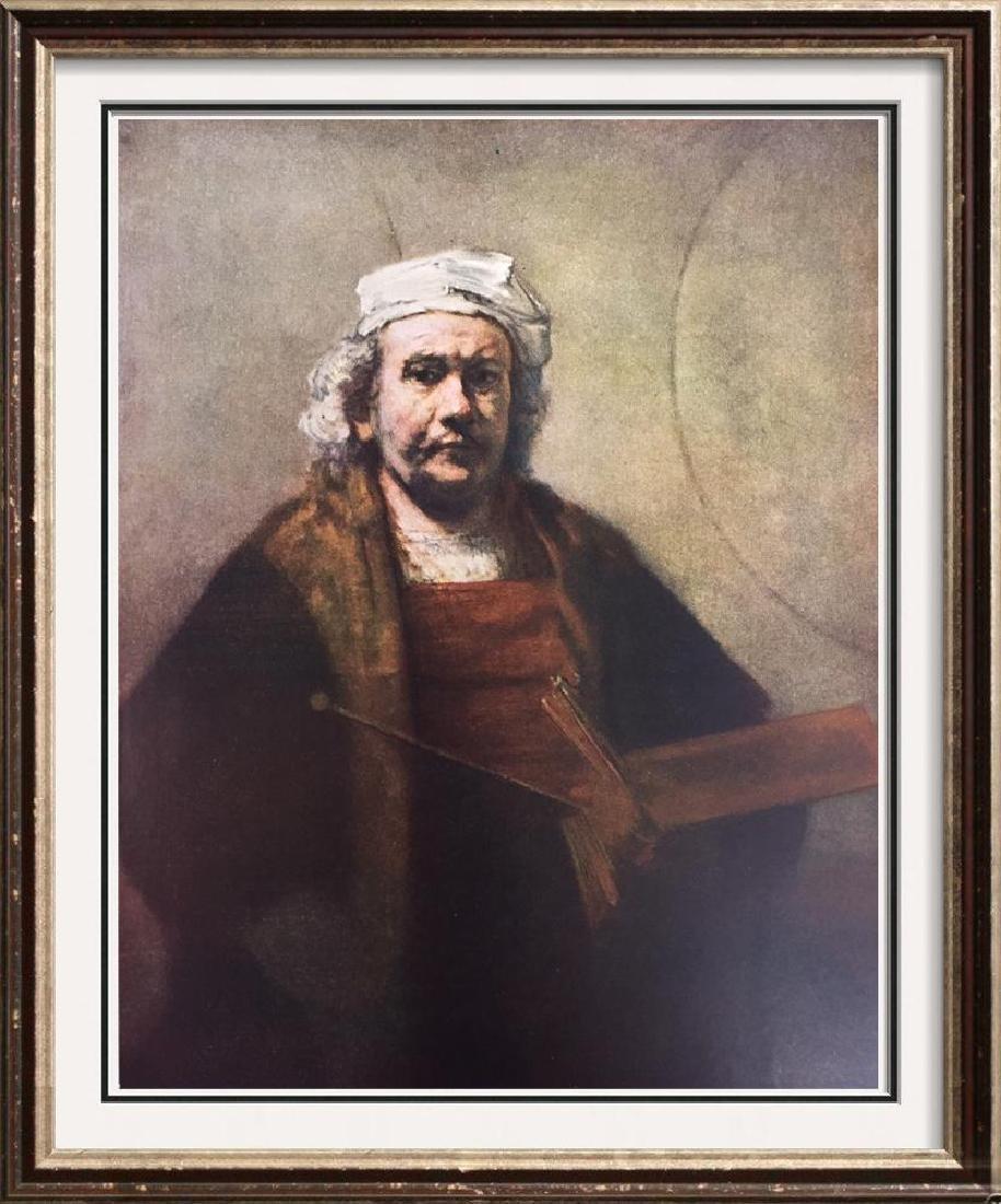 Rembrandt Self-Portrait c.1663 Fine Art Print Signed in