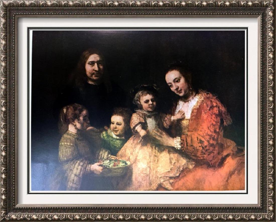 Rembrandt Family Portrait c.1667-69 Fine Art Print