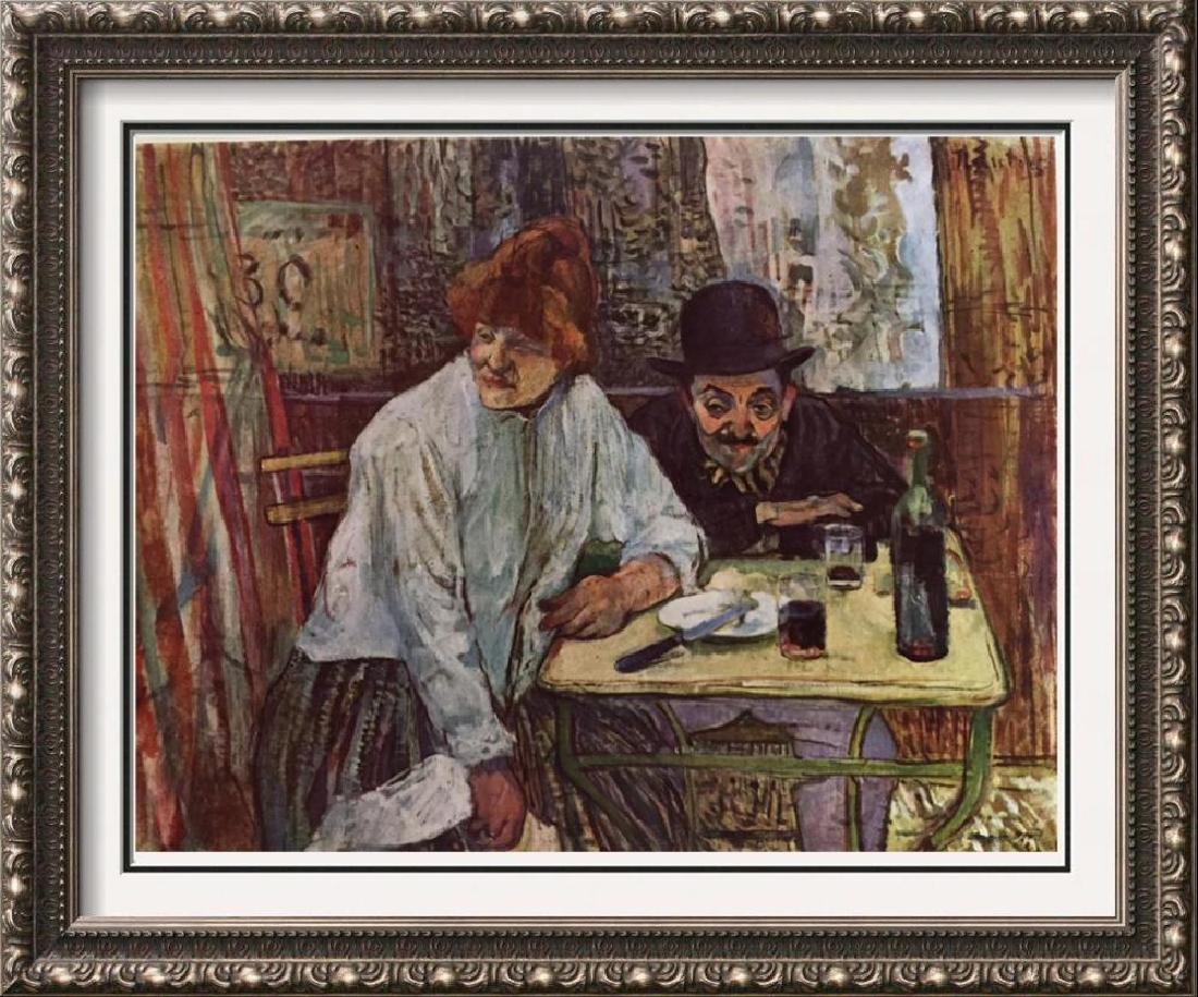 Toulouse-Lautrec A La Mie c.1891 Fine Art Print