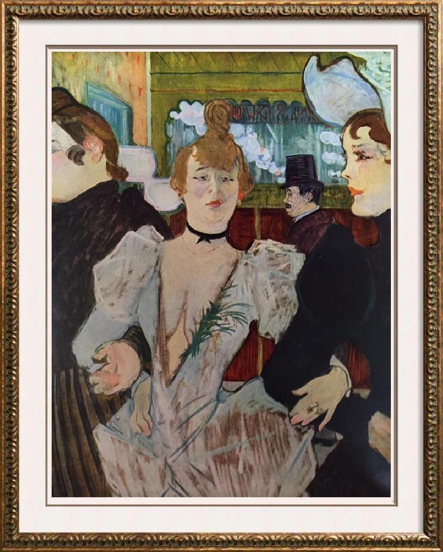 Toulouse-Lautrec La Goulue Entering the Moulin Rouge