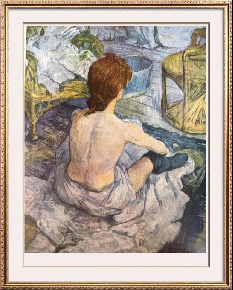 Toulouse-Lautrec La Toilette c.1896 Fine Art Print