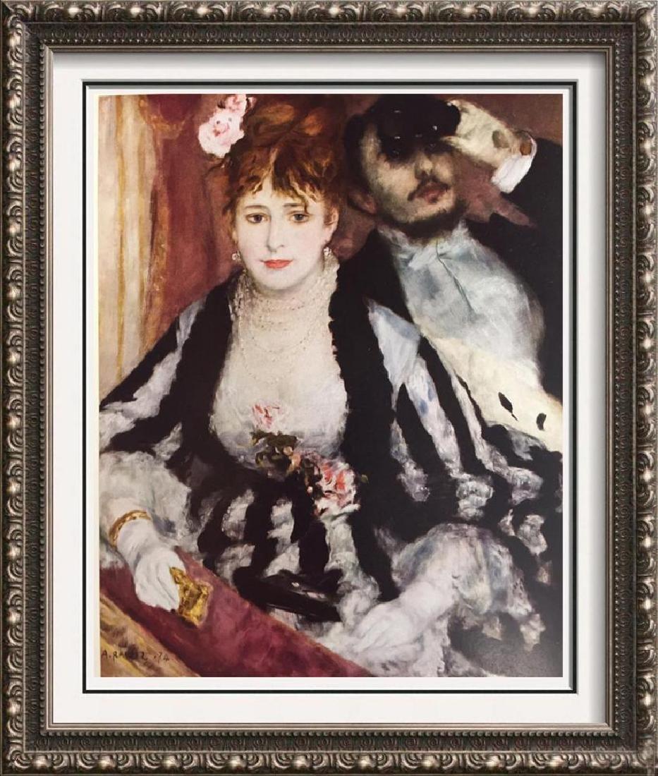 Pierre Auguste Renoir The Loge c.1874 Fine Art Print