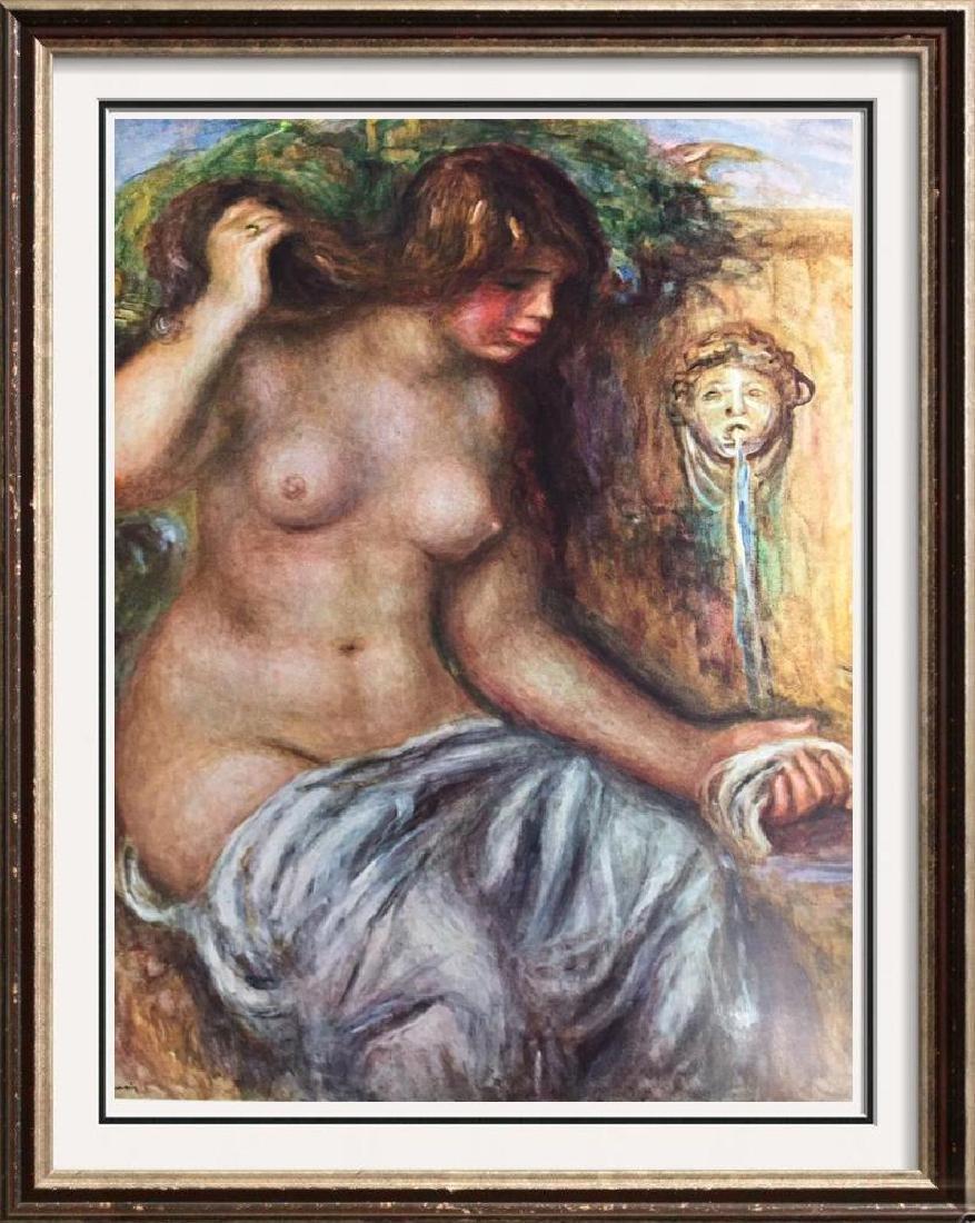 Pierre Auguste Renoir Woman at the Fountain c.1910 Fine
