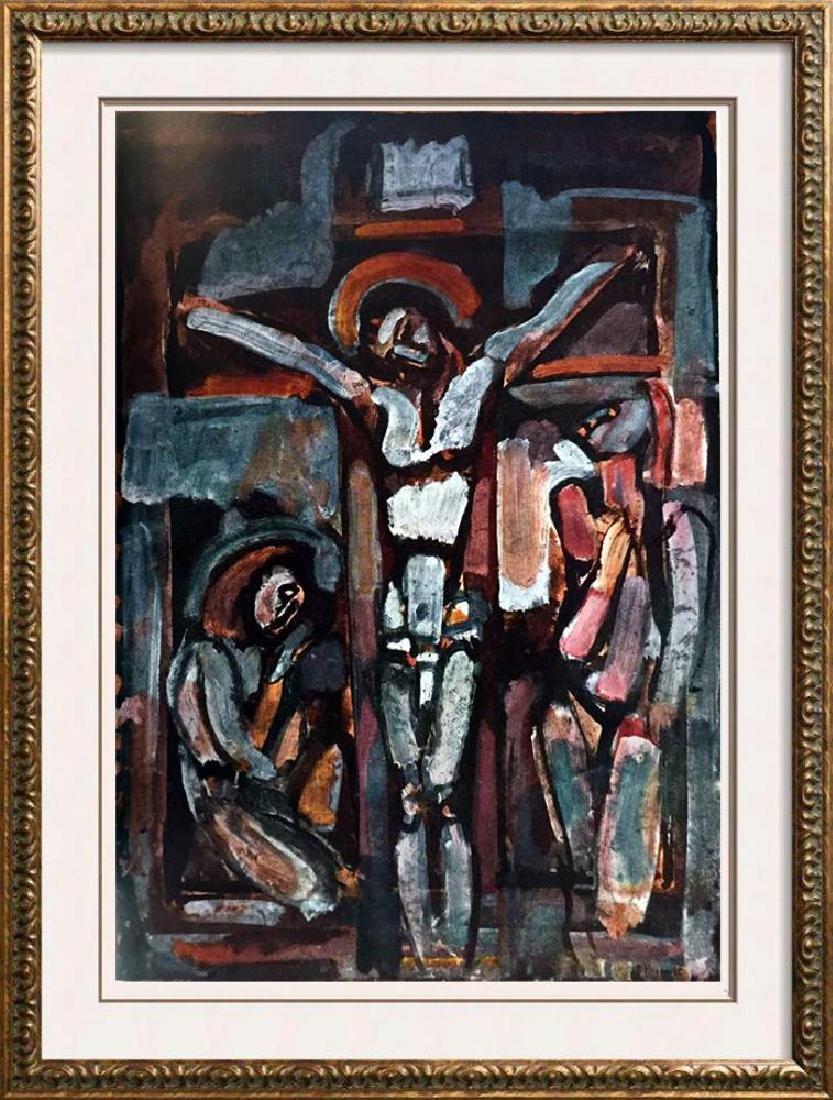 Georges Roualt Crucifixion c.1918 Fine Art Print Signed