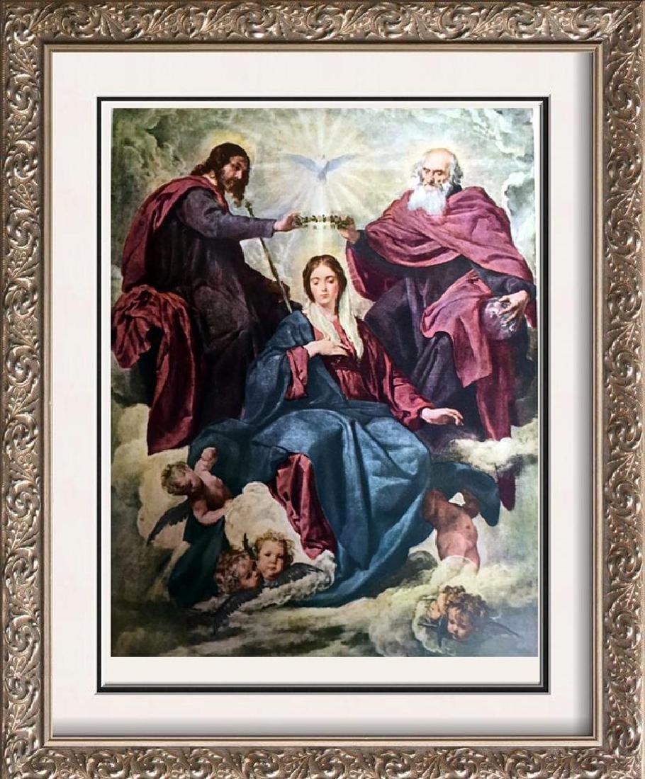Diego Velazquez The Coronation of the Virgin c.1641