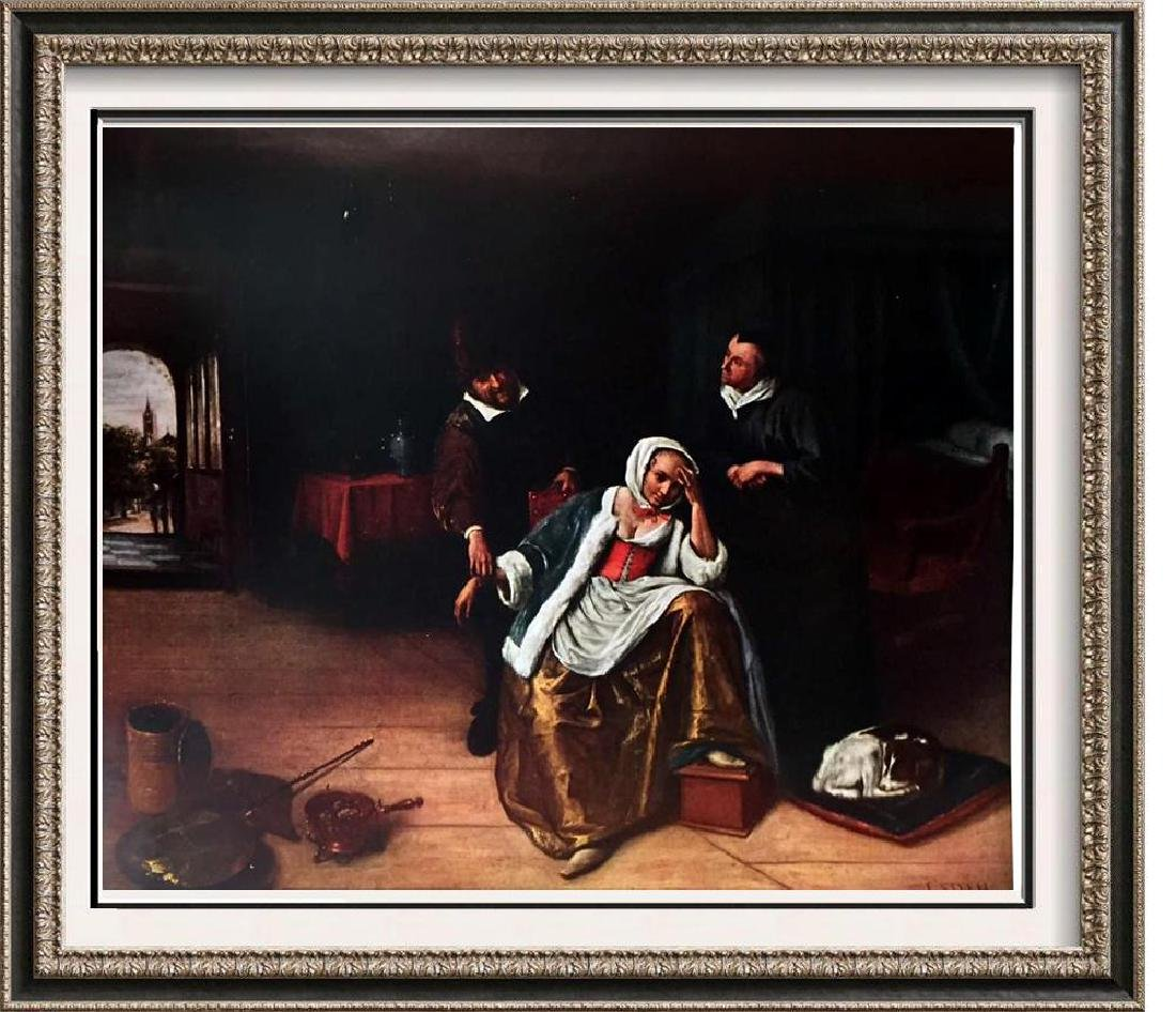 Masterpieces of Dutch Painting Jan Steer: The Lovesick