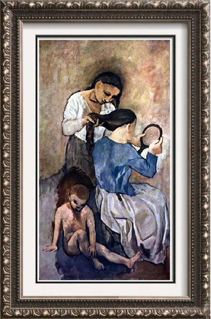 Pablo Picasso La Coiffure c.1905 Fine Art Print Signed
