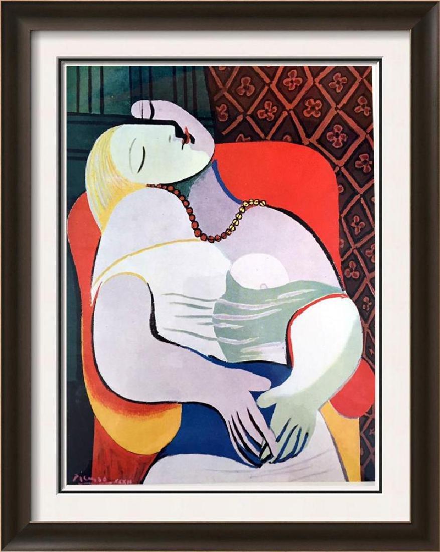 Pablo Picasso Dream c.1932 Fine Art Print Signed in