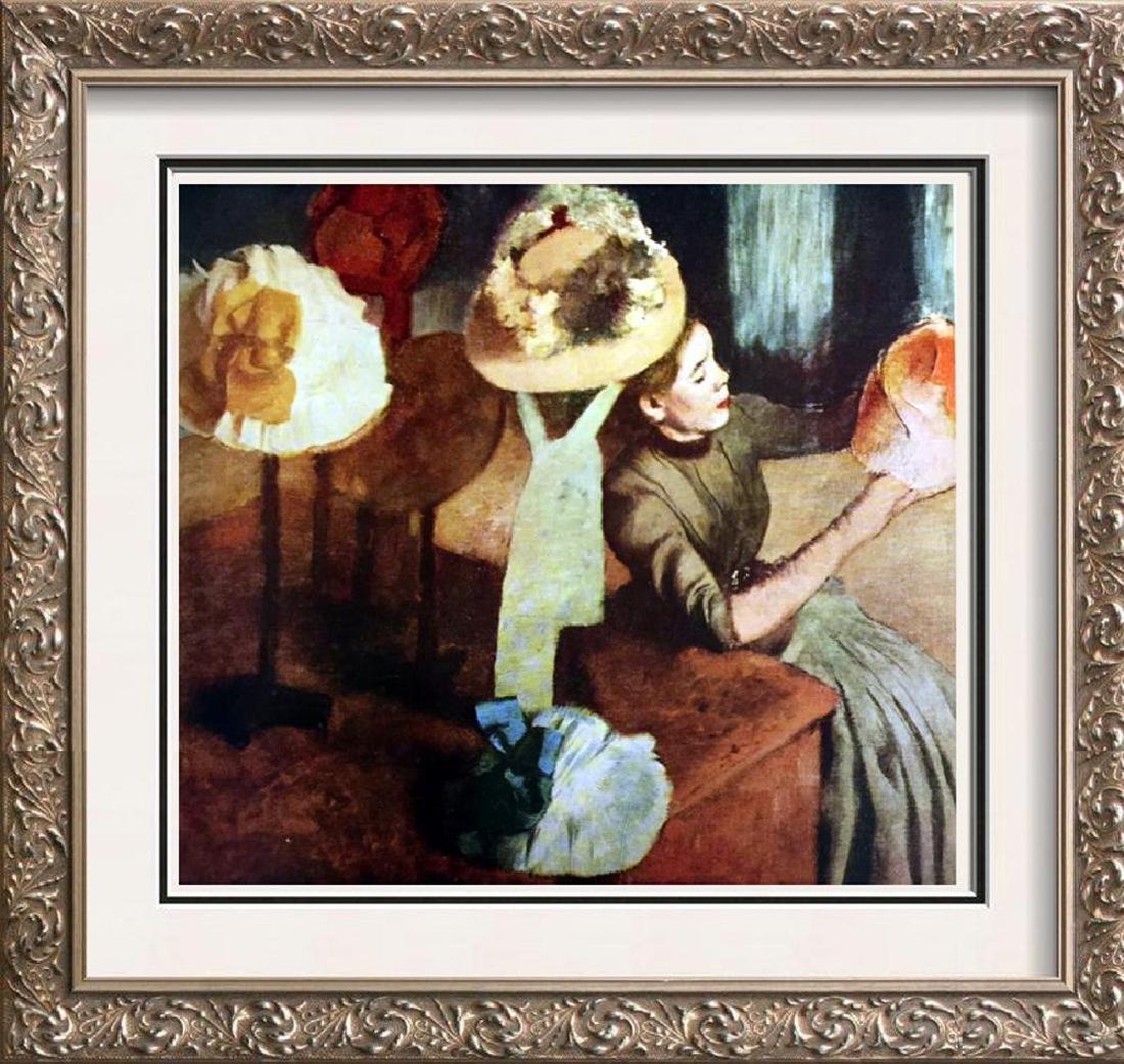 Edgar-Hilaire-Germain Degas The Millinery Shop c.1885