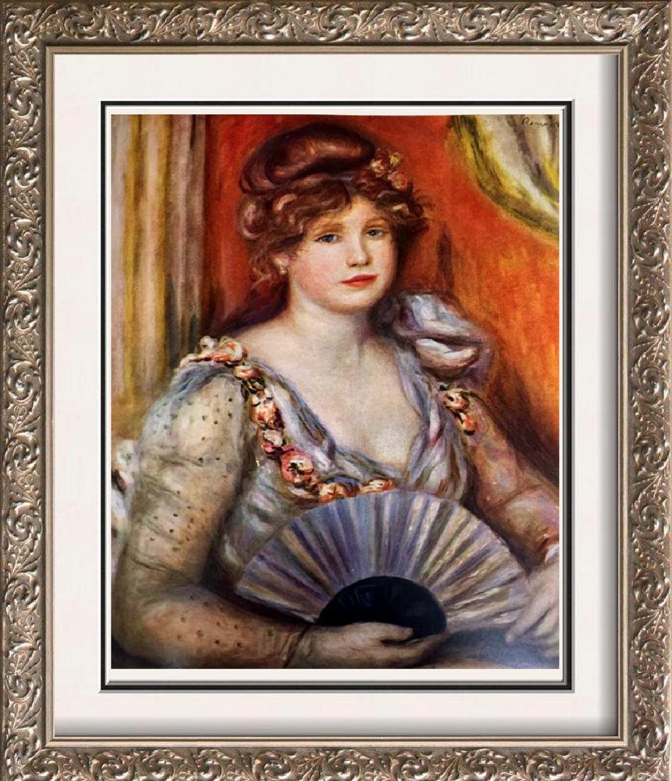Pierre Auguste Renoir Lady with a Fan c.1906 Fine Art
