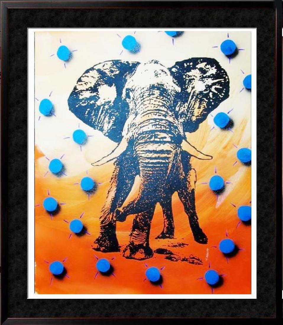 ELEPHANT HUGE SALE POP CANVAS COLORFUL