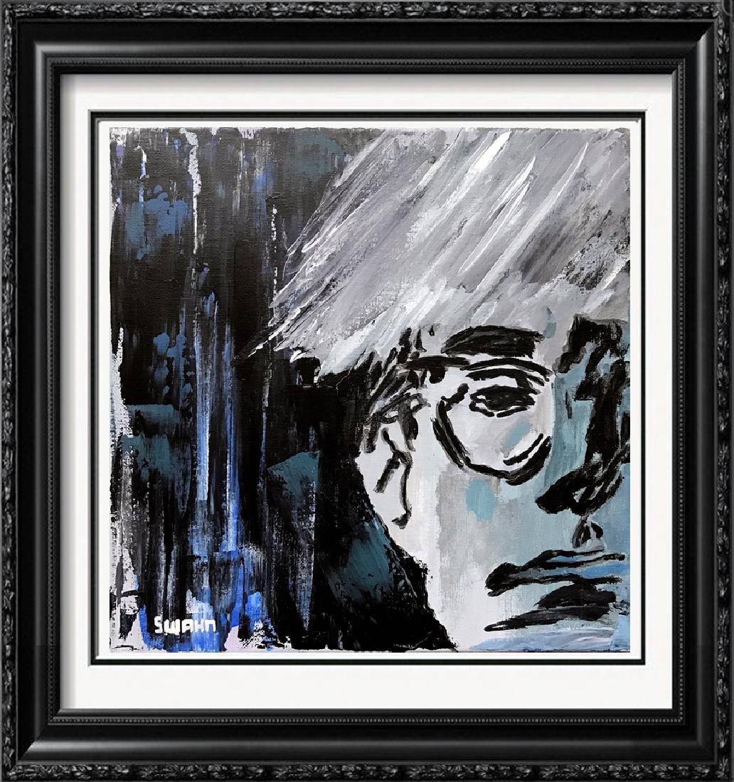 Andy Warhol Pop Art Original Acrylic Painting on Canvas