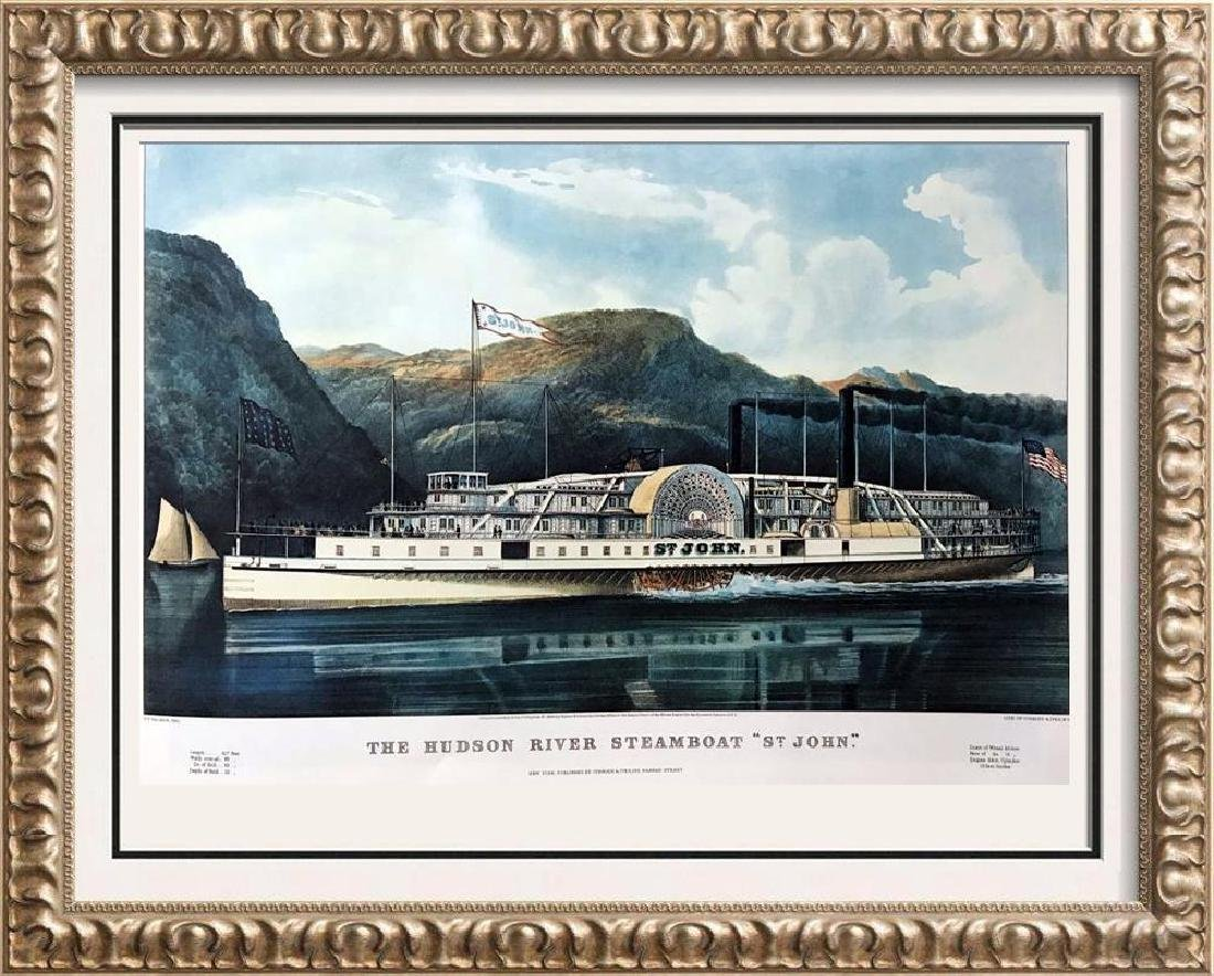 Roy King c.1987 The Hudson River Steamboat Saint John