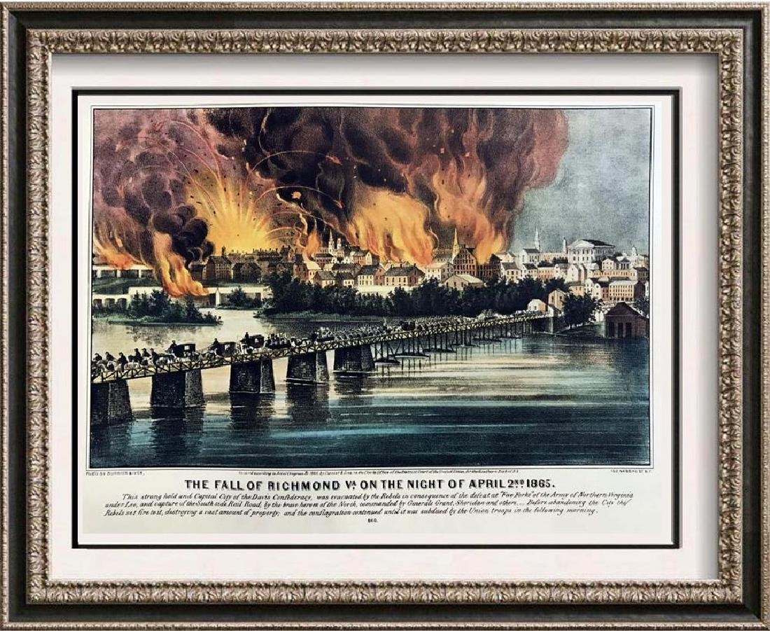Roy King c.1987 The Fall Of Richmond Virginia On The