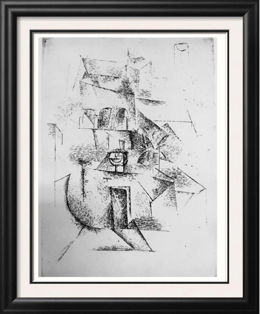 Pablo Picasso 'After'  The Convent c. 1910 Fine Art