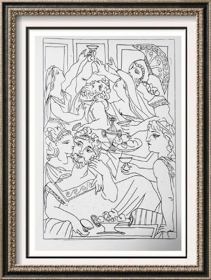 Pablo Picasso 'After'  Lysistrate c.  Fine Art Print