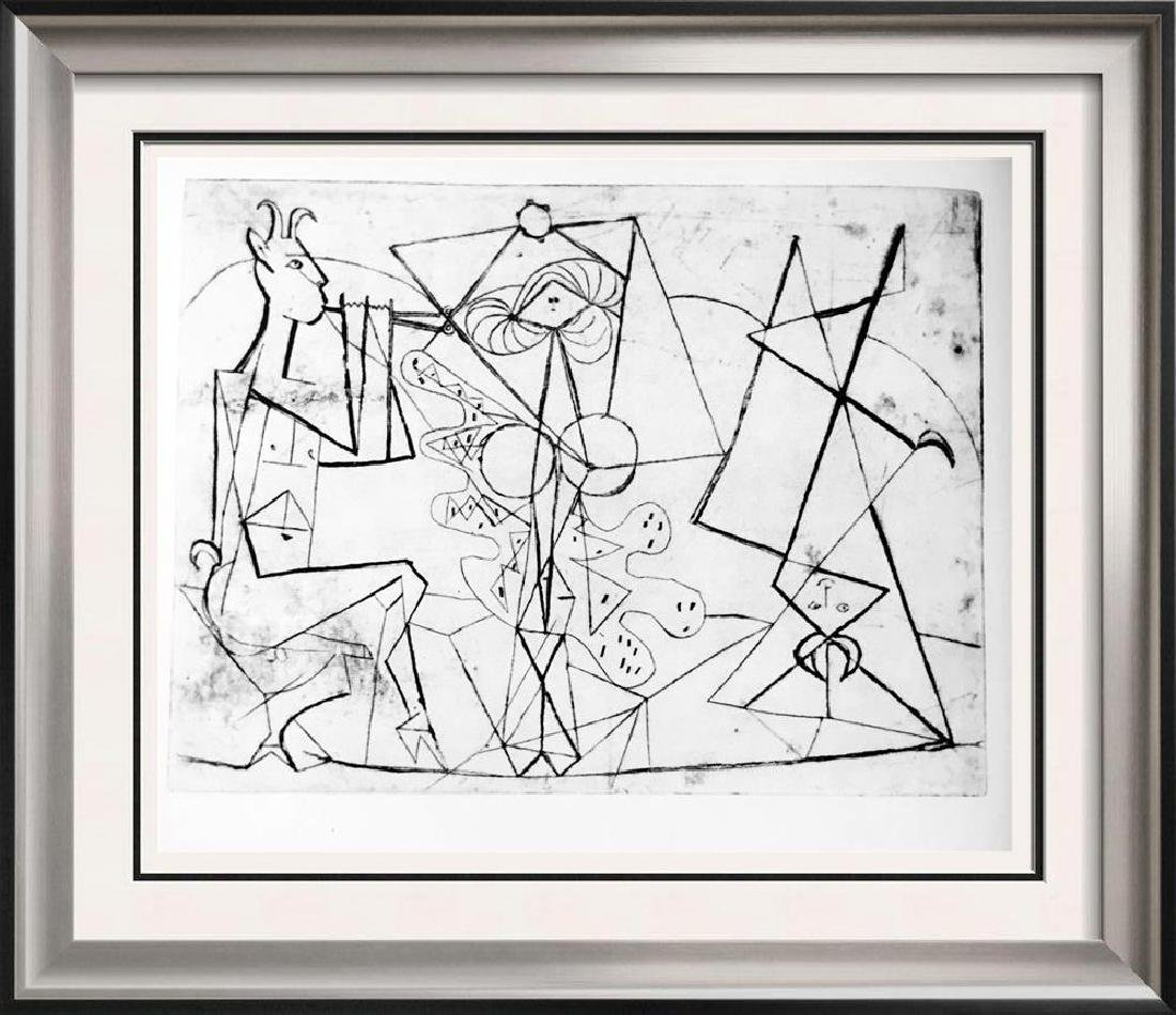Pablo Picasso 'After'  The Pipes of Pan c. 1946 Fine