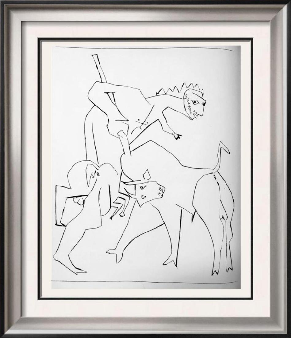 Pablo Picasso 'After'  Le Centaure Picador c. 1948 Fine