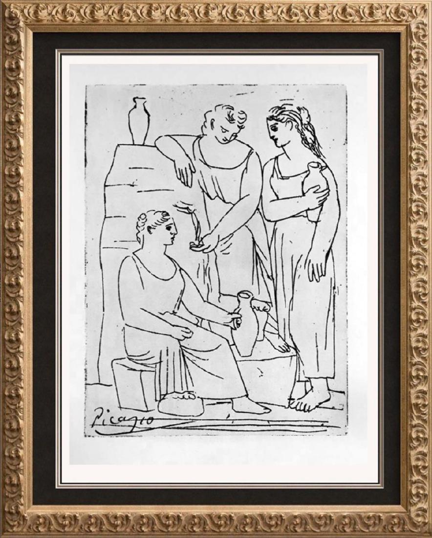 Pablo Picasso 'After'  The Source c. 1921 Fine Art