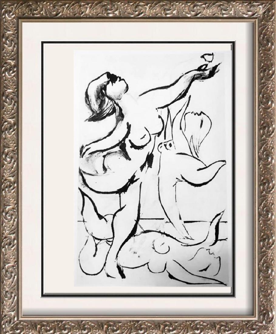 Pablo Picasso 'After'  Three Dancers c. 1933-34 Fine
