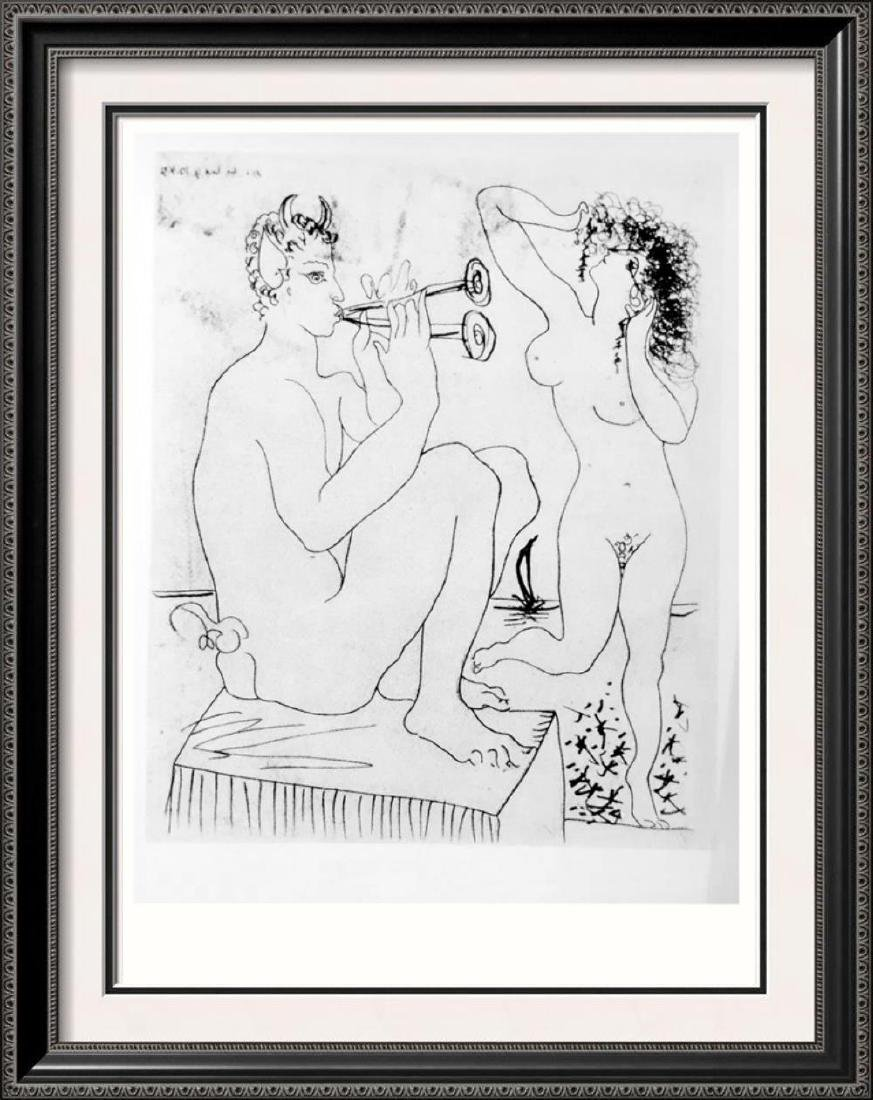 Pablo Picasso 'After'  Pan and a Dancer on the
