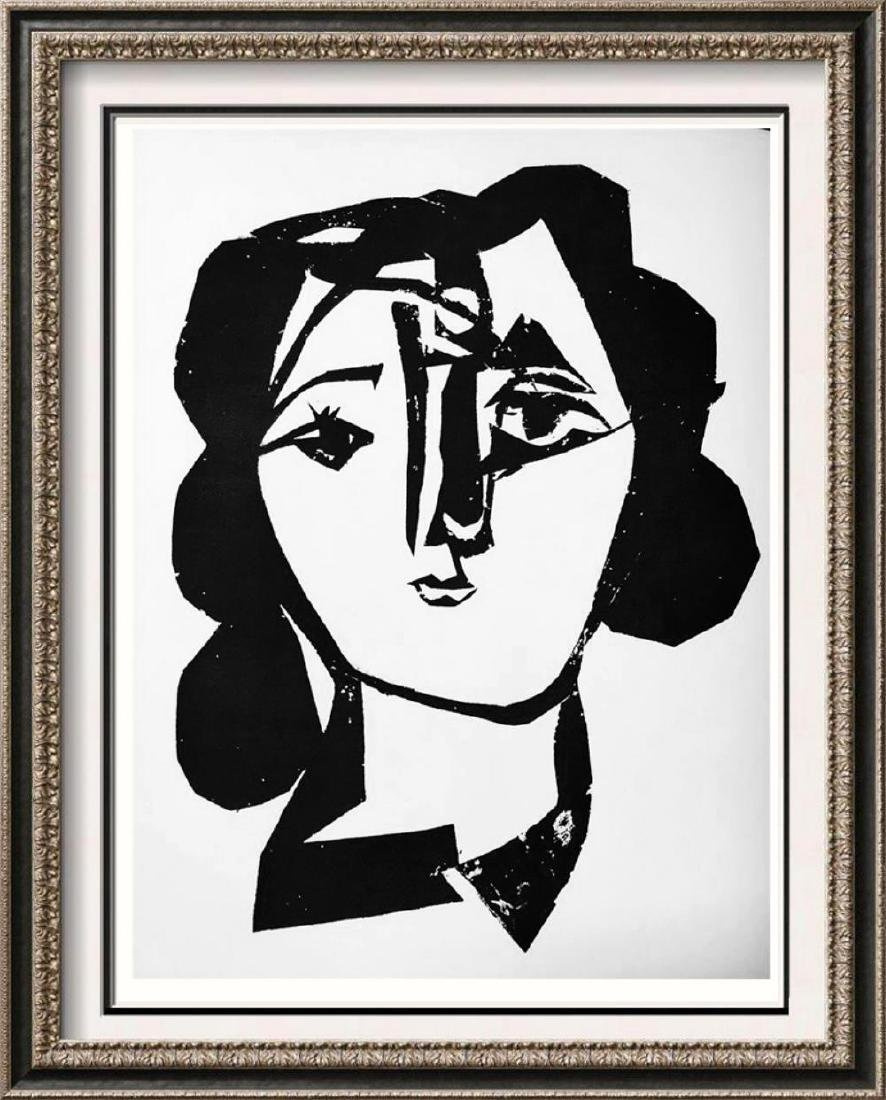 Pablo Picasso 'After'  Head of a Woman c. 1945 Fine Art