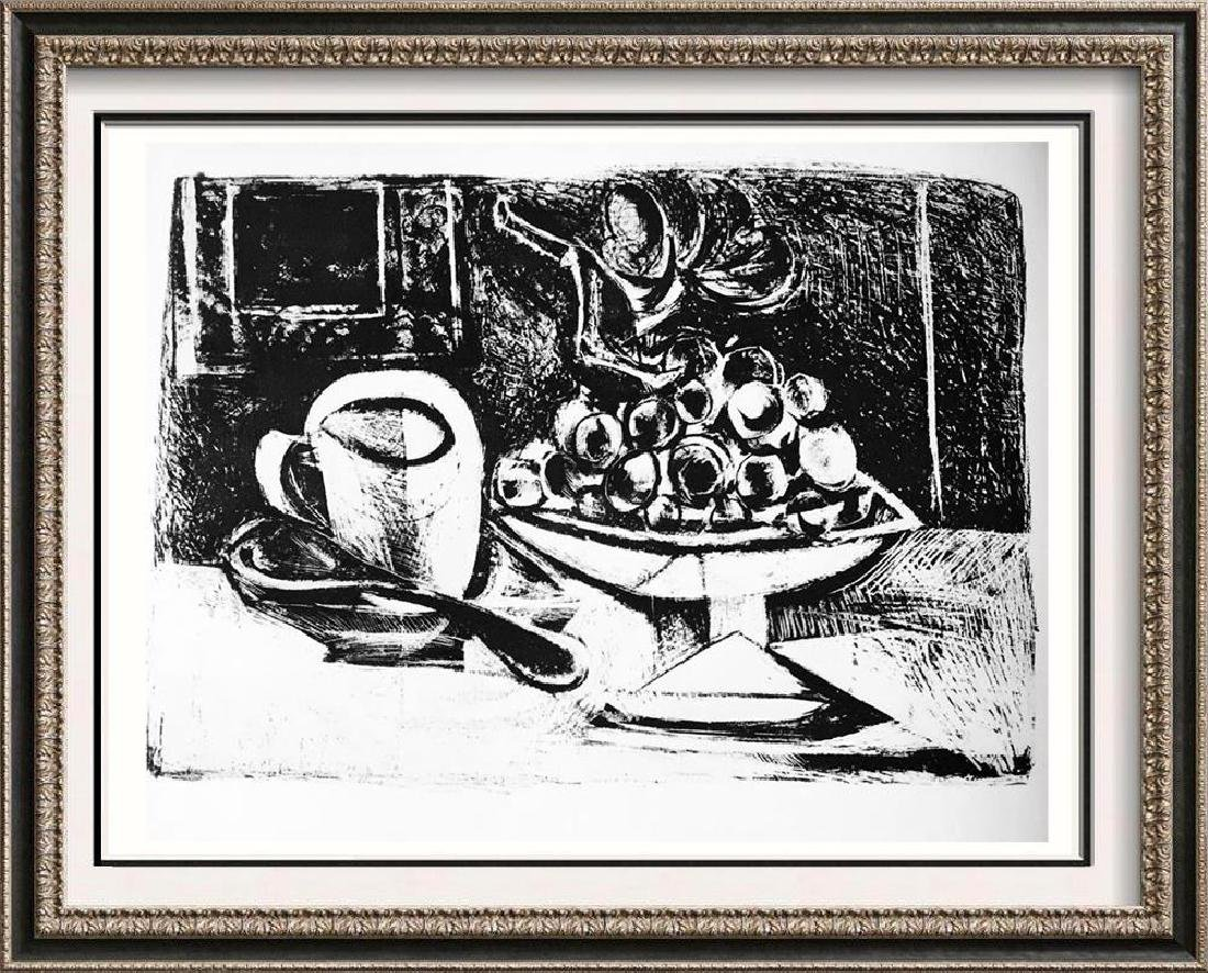 Pablo Picasso 'After'  Still Life with Fruit bowl c.