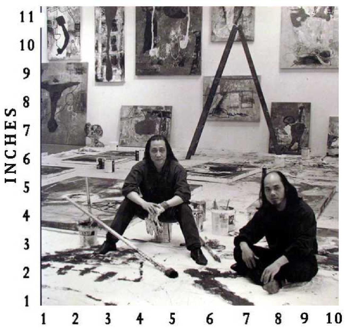 Museum Art Books Zhou Brothers In The Studio 1995