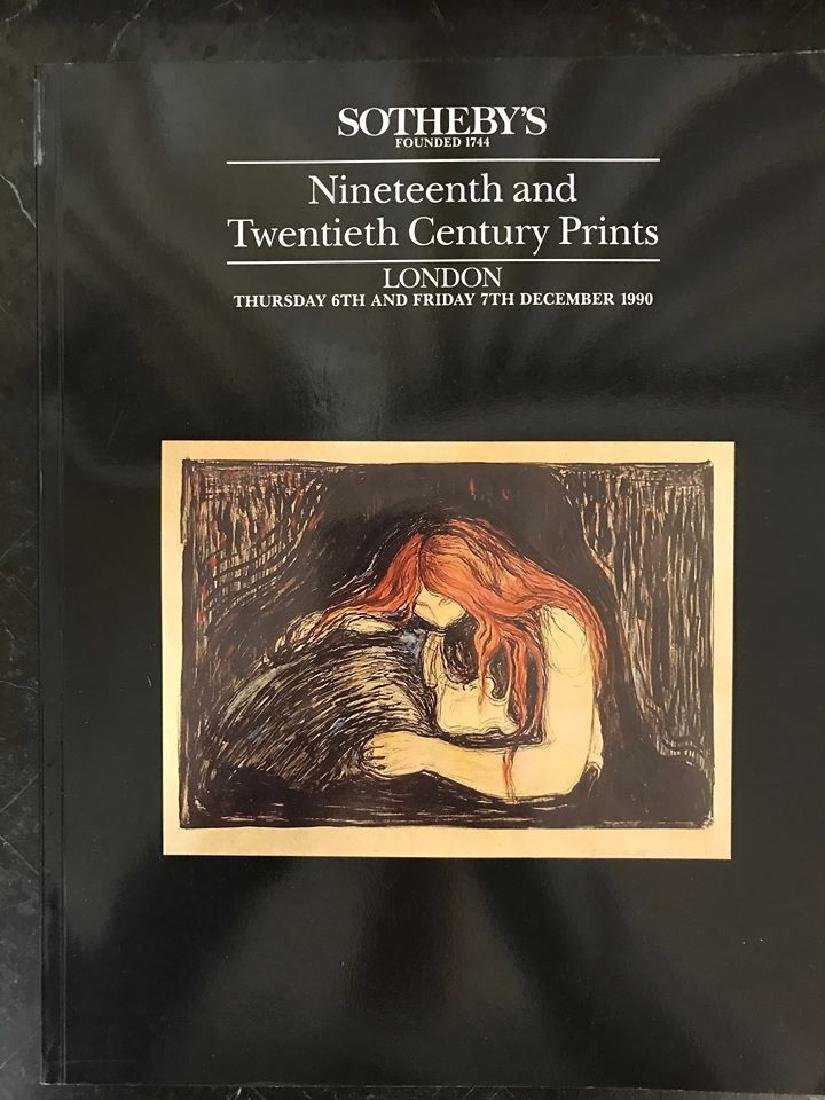 """Sotheby's """"19th & 20th Century Prints"""""""