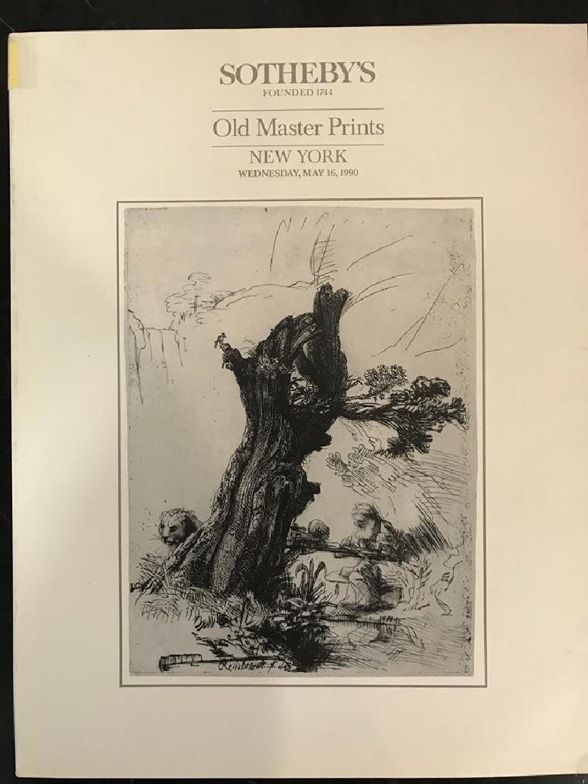 "Sotheby's ""Old Master Prints"""
