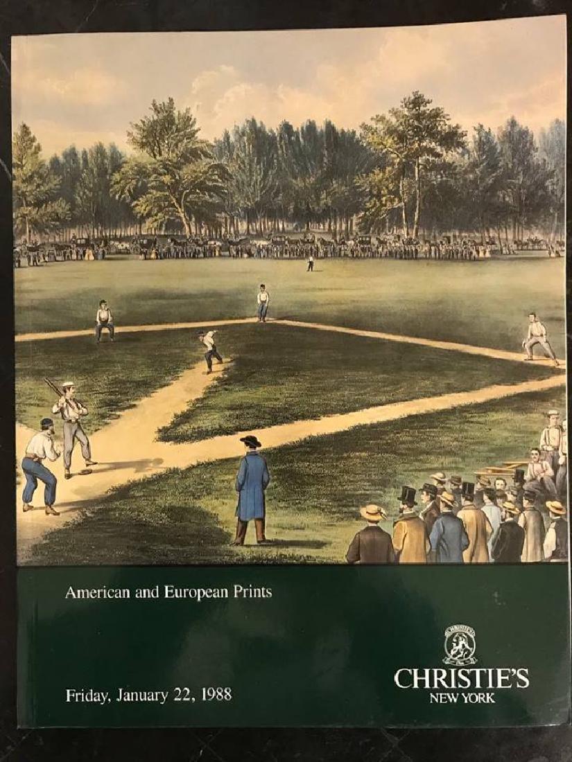 "Christie's ""American & European Prints"""