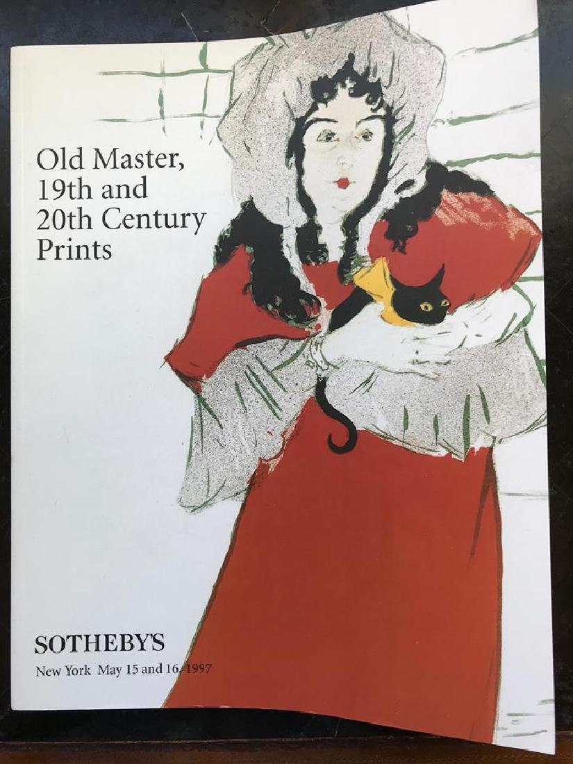 """Sotheby's """"Old Master, 19th & 20th Century Prints"""""""