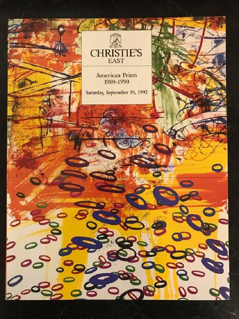 "Christie's ""American Prints 1900 - 1990"""