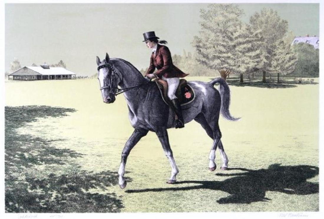 Saddle Breed Ltd Ed Horse Rider Hand Signed