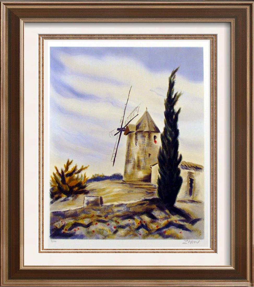 WINDMILL TRADITIONAL IMPRESSIONISM ART LIQUIDATION