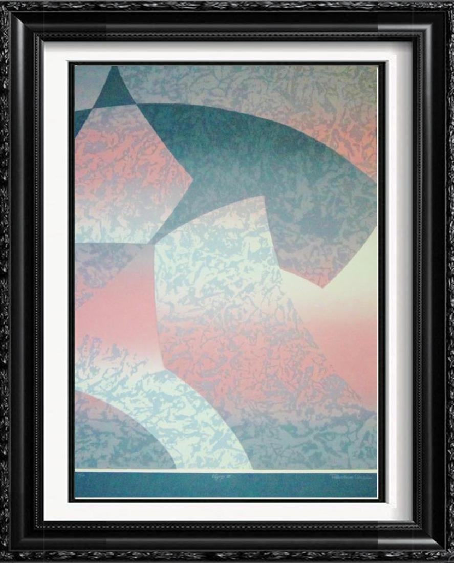 Abstract Geometric Modern Ltd Ed Rare Sale Only $80