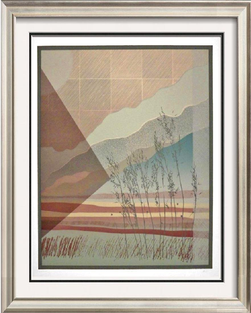 Large Abstract Modern Limited Edition Signed Litho Only
