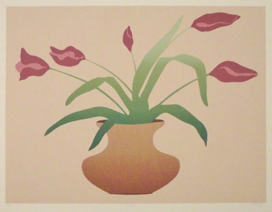 Floral Vase Limited Edition Litho Signed Art Sale - 2
