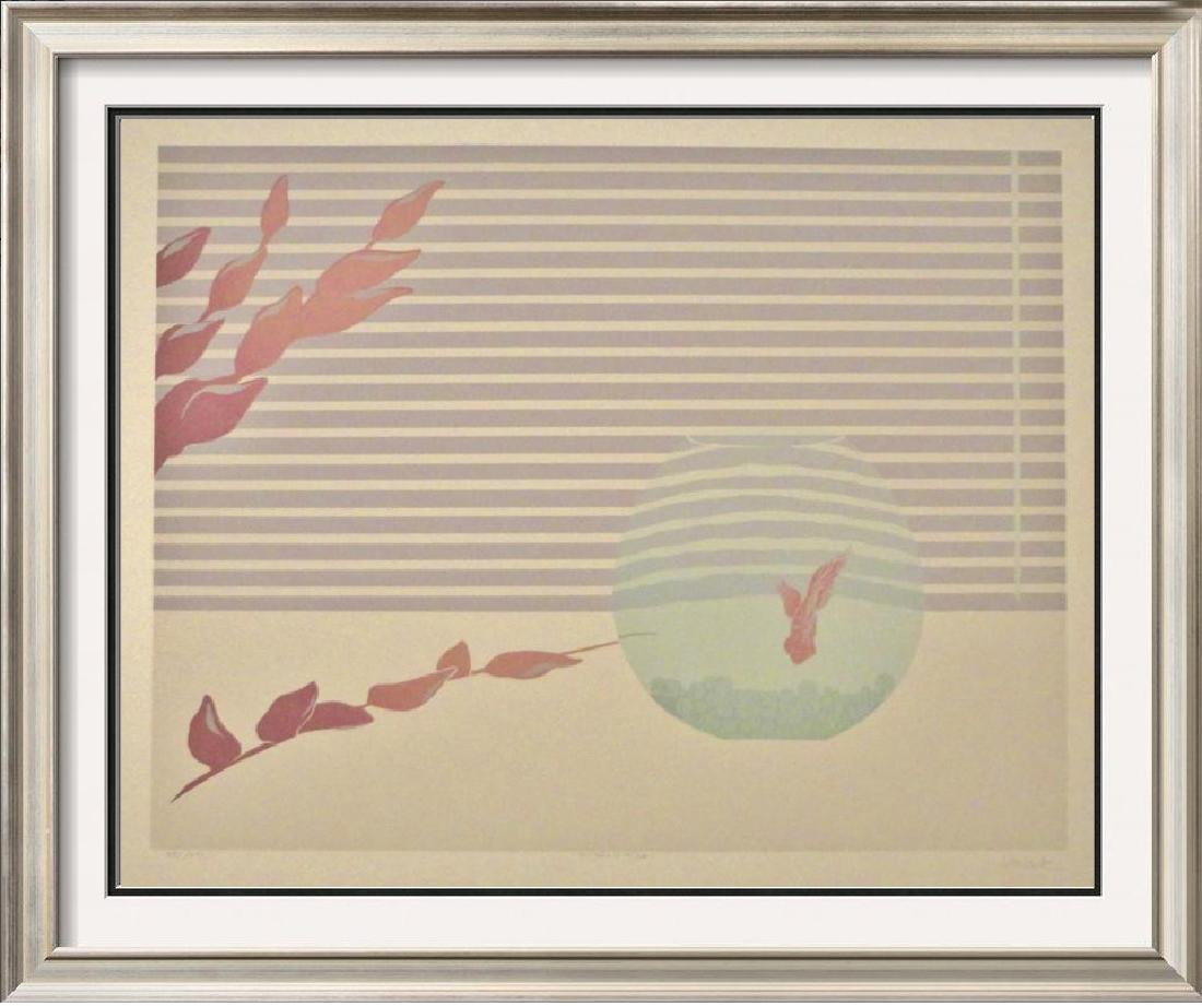 Fish Abstract Signed Limited Edition Art Sale