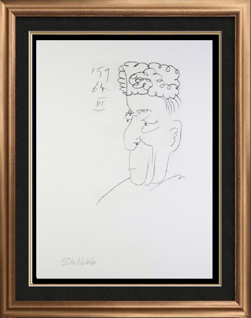 LINE DRAWING STYLE PICASSO LTD ED RARE 1964 COLLECTIBLE