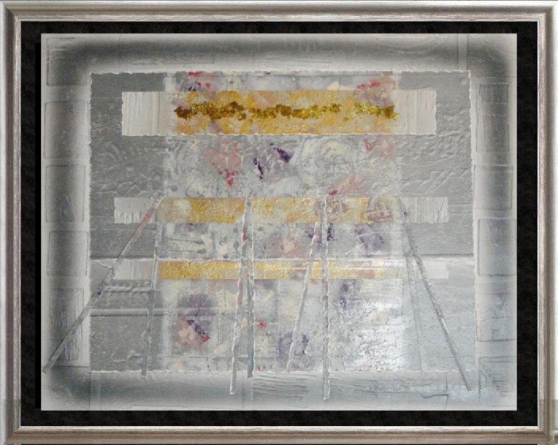 Mixed Media Limited Edition Textured Abstract Modern