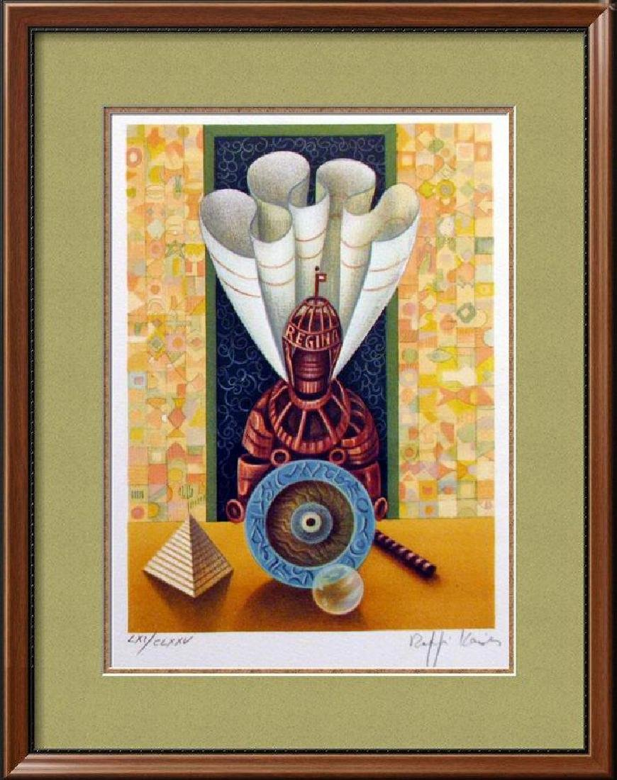 Chess Queen Art Signed Lithograph Limited Edition Only