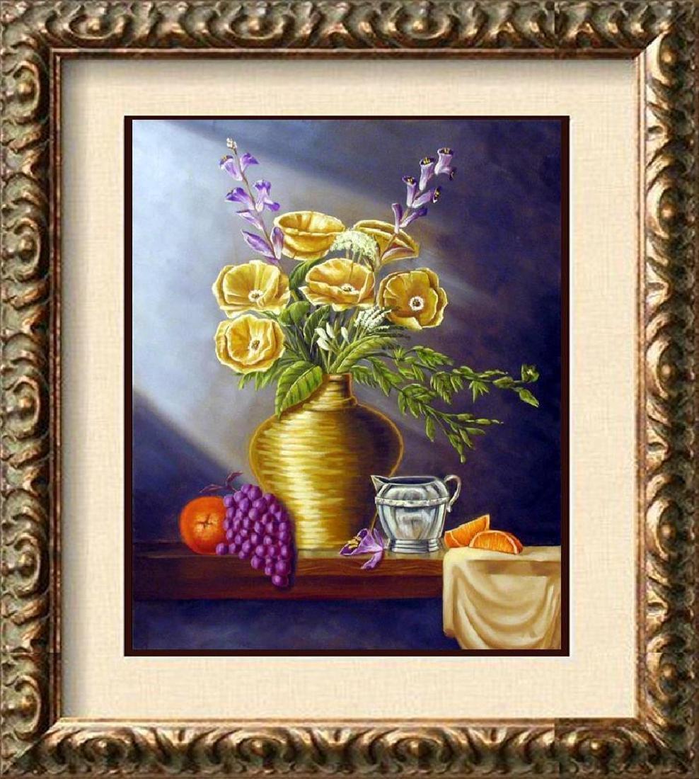 Vase Realistic Painting on Canvas Fantastic Bob