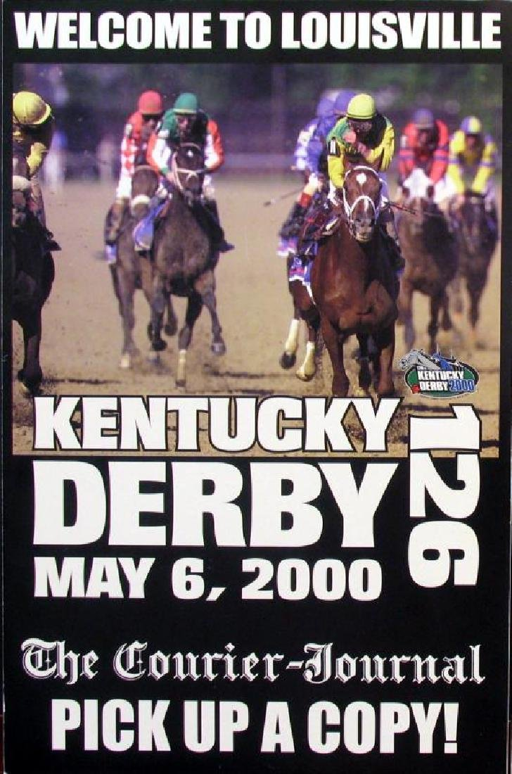 2000 Kentucky Derby Memorabilia Newspaper & Print