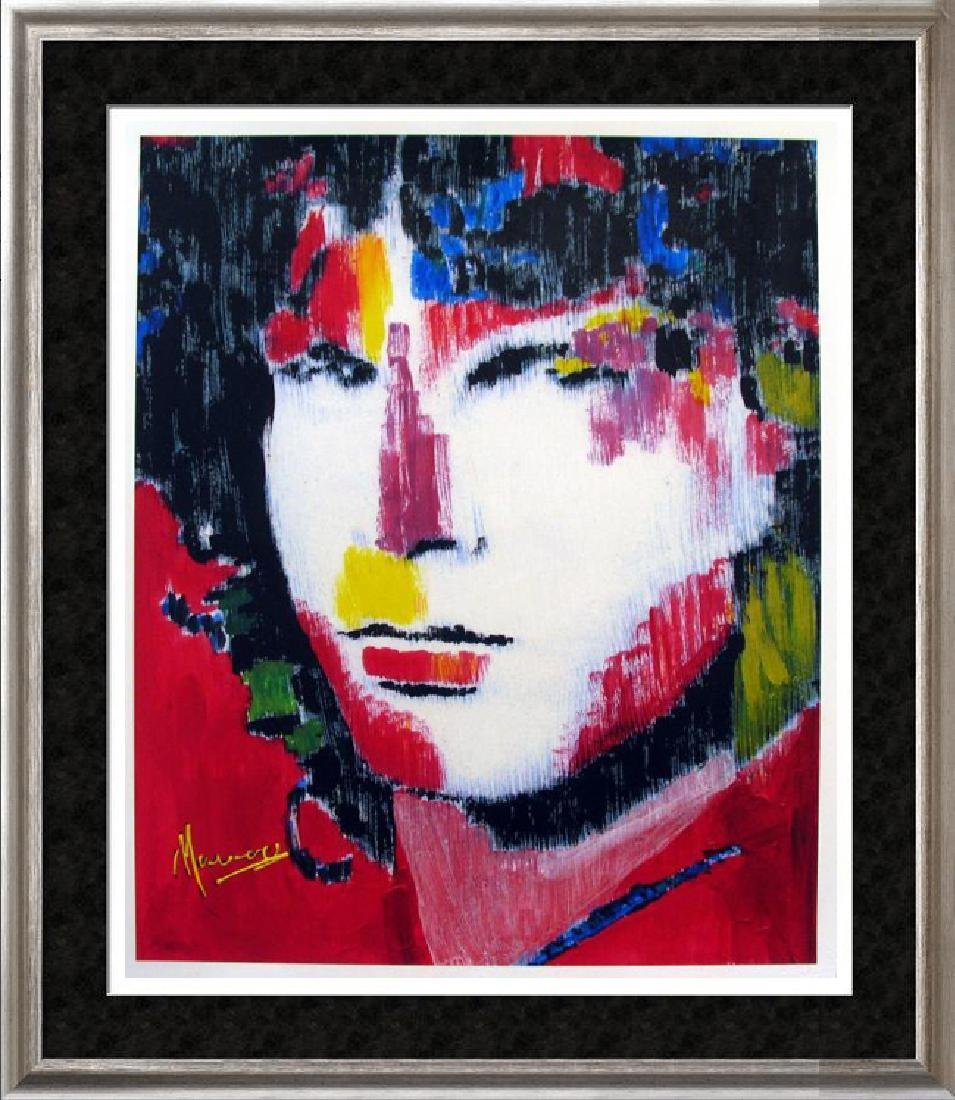 Jim Morrison Signed Limited Edition Pop Ap Giclee Sale