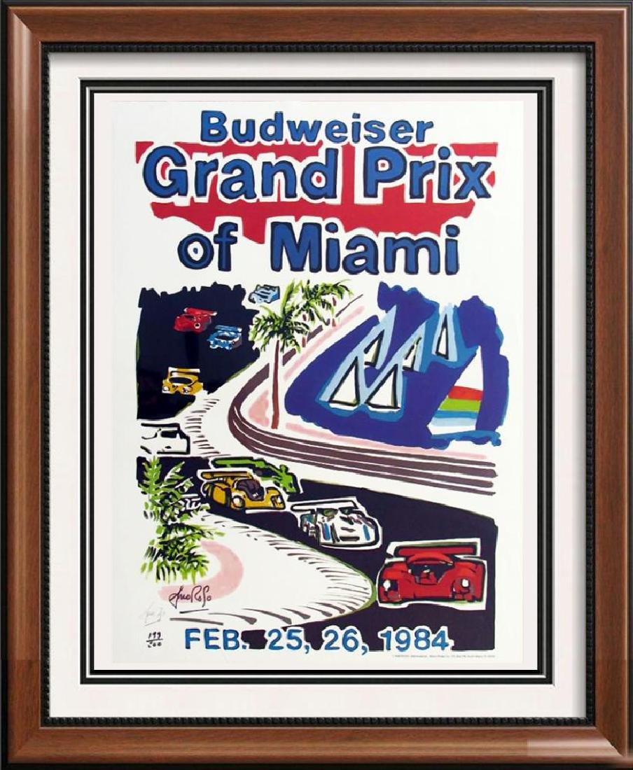 Budweiser Grand Prix Auto Racing Limited Edition Offset