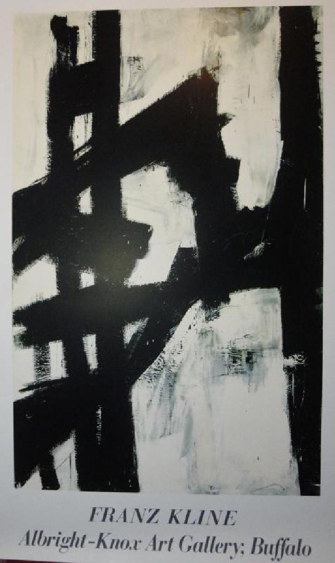 Abstract Kline Modern Art Print Sale