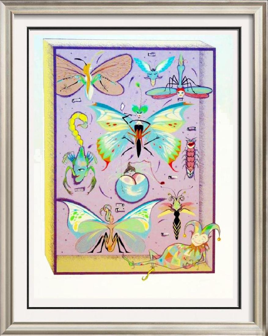 Butterfly Collection Color Serigraph Signed Ltd Ed Sale