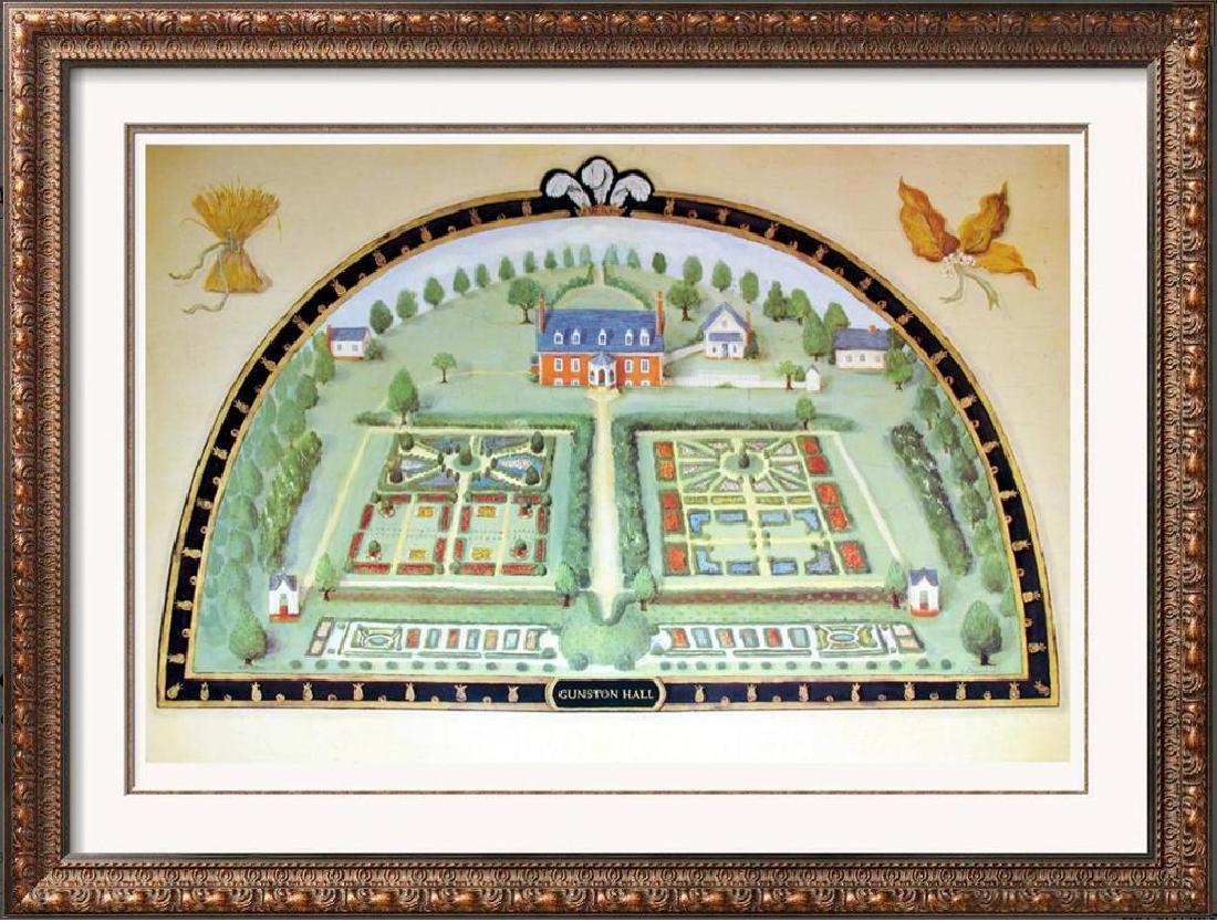Alexandra Churchill Gunston Hall Plate Signed 1995